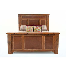 View Product - Pagosa Springs - Bed - Bed With Barnwood Panel