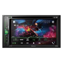 6.2-Inch Double-DIN In-Dash Multimedia DVD Receiver with Bluetooth®