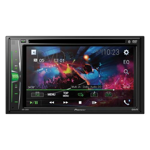 Petra - 6.2-Inch Double-DIN In-Dash Multimedia DVD Receiver with Bluetooth®
