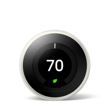 Nest Learning Thermostat 3rd Gen White 1 Pack