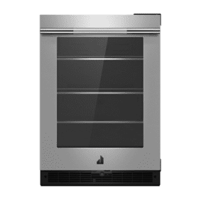 "RISE 24"" Under Counter Glass Door Refrigerator, Right Swing"