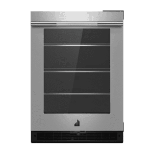 "Jenn-AirRISE 24"" Under Counter Glass Door Refrigerator, Right Swing"