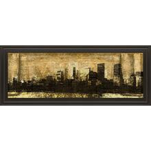 """Defined City I"" By Sd Graphic Studio Framed Print Wall Art"