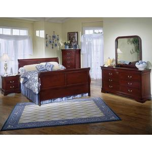 Cherry Louis Philippe Bedroom Collection