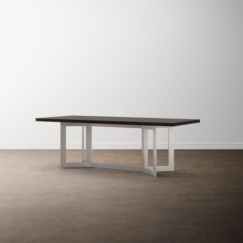 """MODERN with Bench*Made 90"""" Oak Astor Table"""