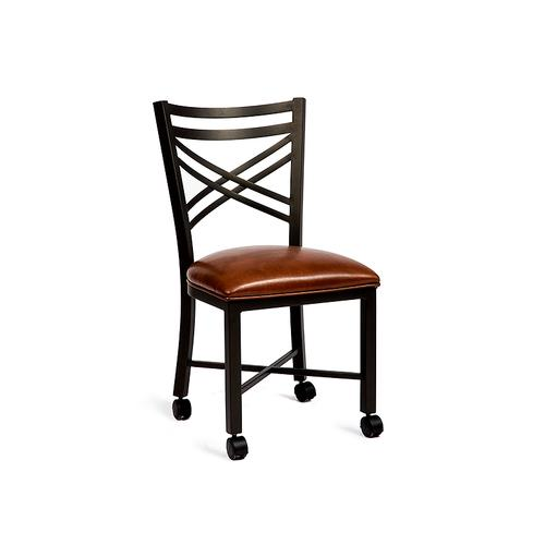 Raleigh Chair W/ Casters Bar Stool
