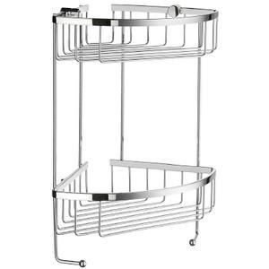 Double Corner Soap Basket Product Image