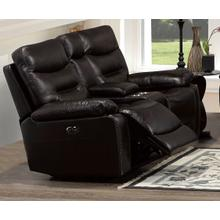 Power Motion Loveseat Brown