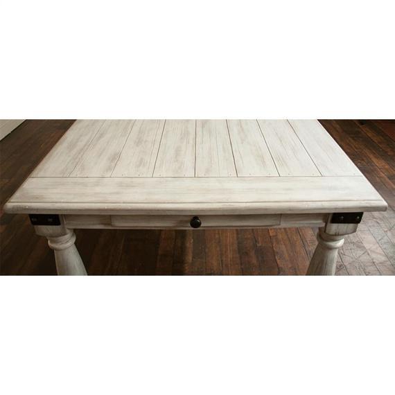 Riverside - Regan - Rectangular Dining Table - Farmhouse White Finish