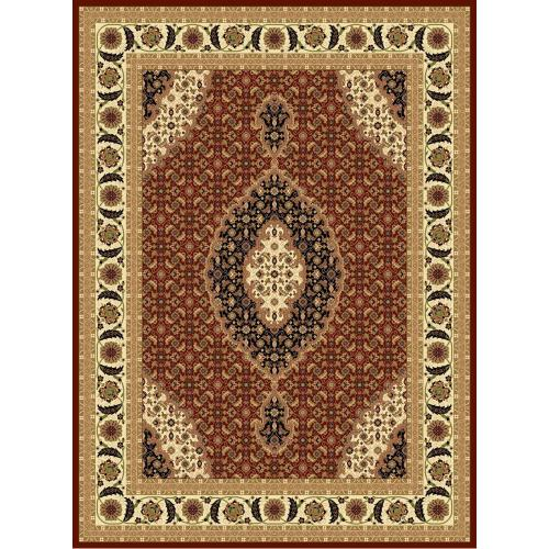 "Persian Design 1 Million Point Heatset Monalisa T02 Area Rugs by Rug Factory Plus - 2'8"" x 10' / Black"