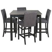 Garvine Counter Height Dining Table and Bar Stools (set of 5) Product Image