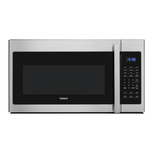 Galanz - Galanz 1.7 Cu Ft Over-The-Range Microwave in Stainless Steel