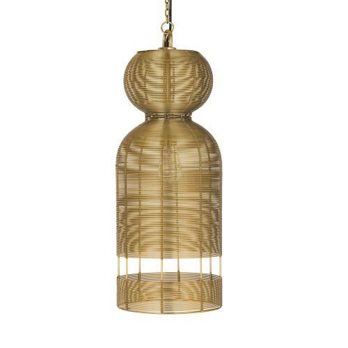 Product Image - Medium Hampton Wrapped wire pendant