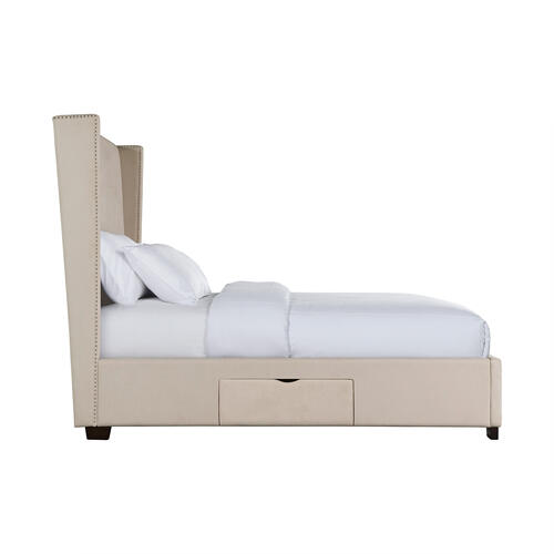 Magnolia King Upholstered Storage Bed