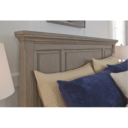 Lettner King/california King Panel Headboard