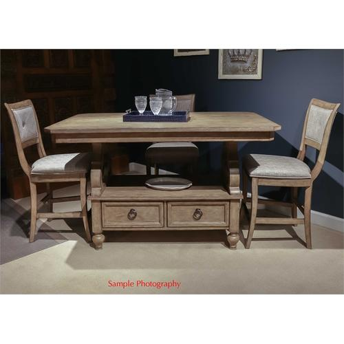 Liberty Furniture Industries - 5 Piece Gathering Table Set