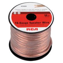 See Details - 50 Foot 16 Gauge Speaker Wire (Spool)