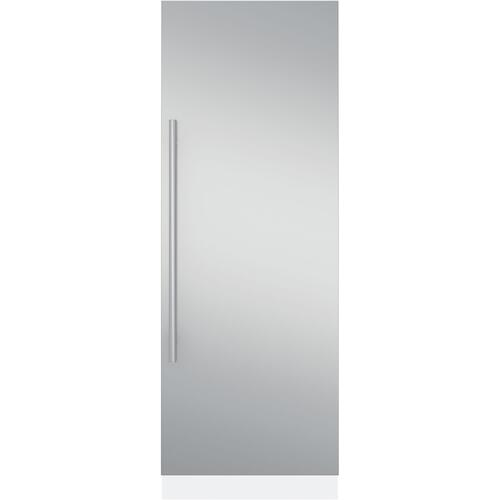 """30"""" Fully Integrated Refrigerator- Euro Stainless Steel Door Panel Kit"""