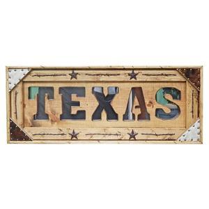 Texas Letter Mirror