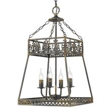 Tudor 4 Light Pendant