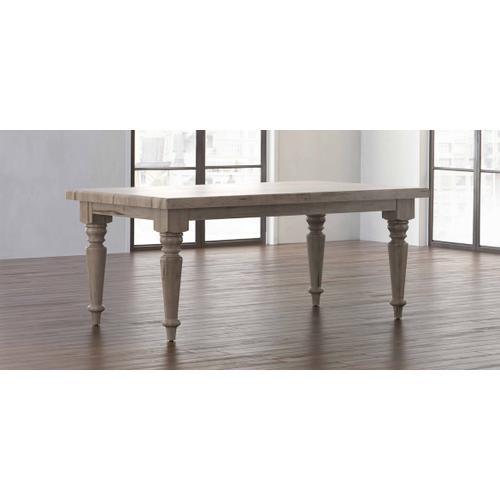 Bassett Furniture - Farmhouse Maple Leg Dining Table