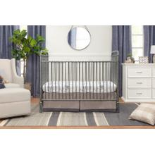 Vintage Silver Abigail 3-in-1 Convertible Crib