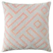 See Details - Best Seller Maze Pillow, PEWTER, 22X22