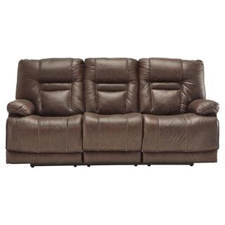Wurstrow Power Reclining Sofa w/ Adjustable Headrest