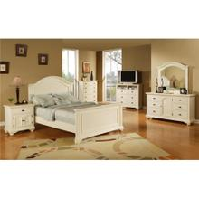 BP700LCW Brook White Lingerie Chest
