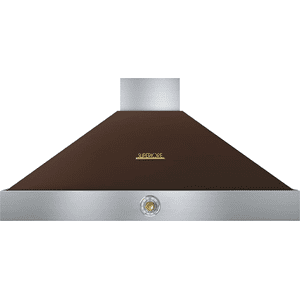 Hood DECO 48'' Brown matte, Gold 1 blower, analog control, baffle filters