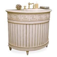 See Details - Fluted Sink Chest - Light