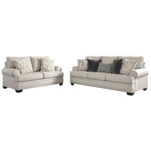 Sofa and Loveseat