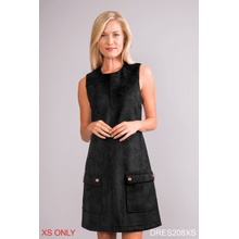 See Details - Model Behavior Faux Suede Dress - XS (3 pc. ppk.)