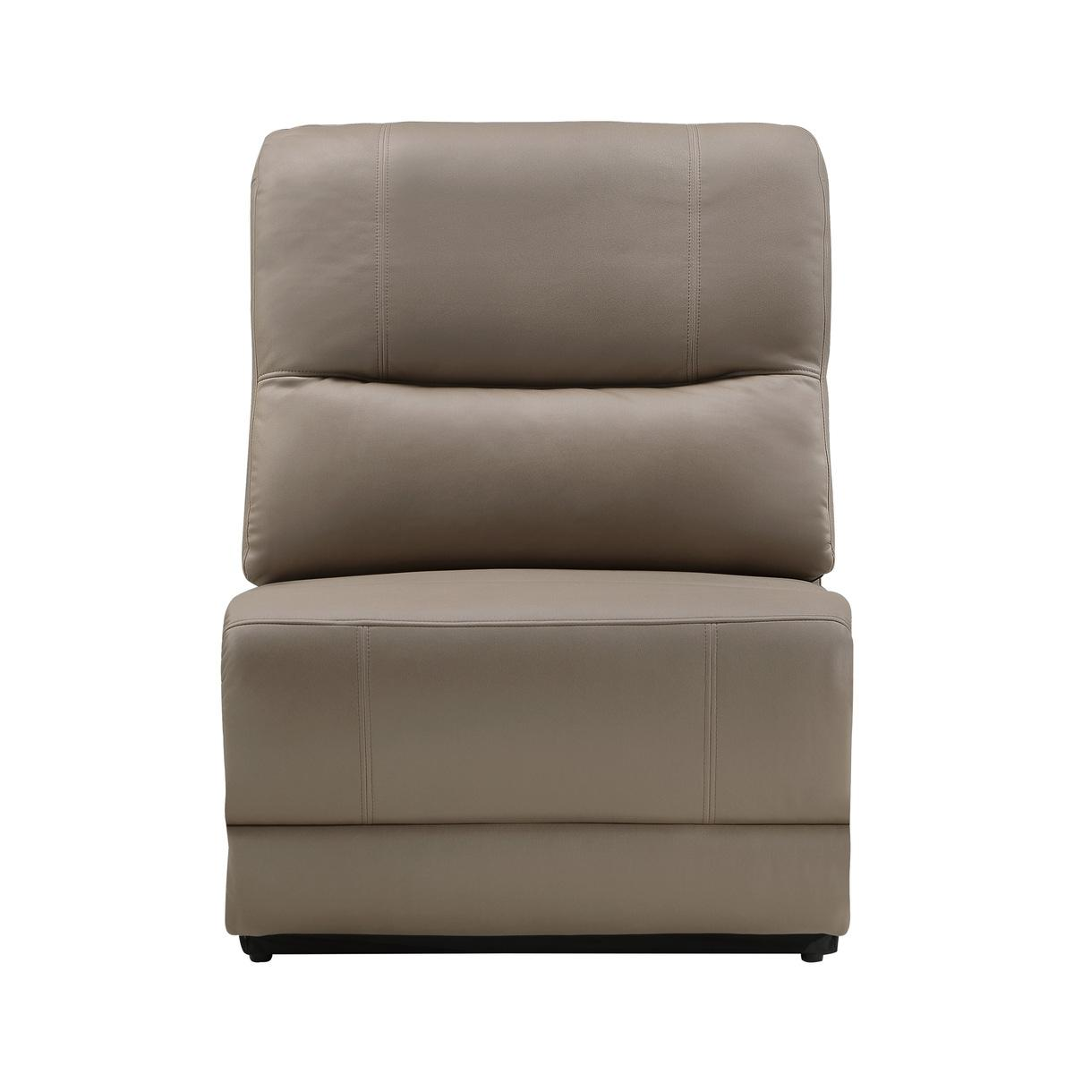 Power Armless Reclining Chair with Power Headrest