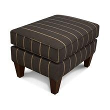 497N Shipley Ottoman with Nails