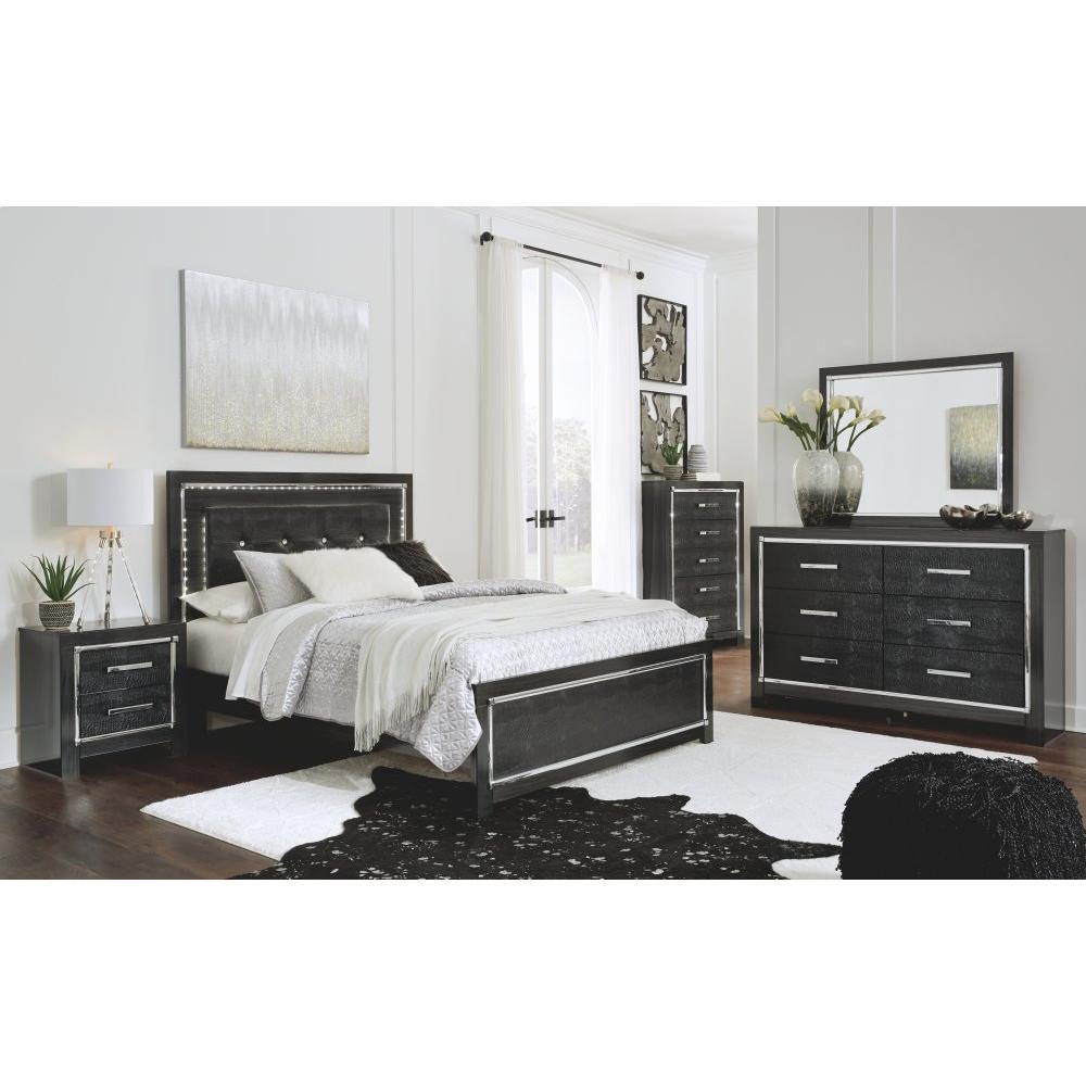 Kaydell Queen Upholstered Panel Bed