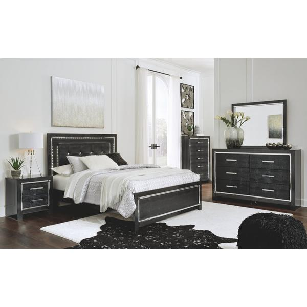Kaydell Queen Upholstered Panel Bed