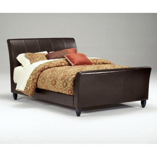 Queen Faux Leather (Synthetic Leather) Bed - KD