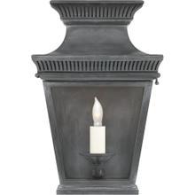 Visual Comfort CHD2945WZ-CG E. F. Chapman Elsinore 1 Light 12 inch Weathered Zinc Outdoor Wall Lantern, Small