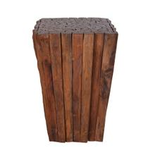 TF-1058 Matchstick Pyramid Side Table/Stool