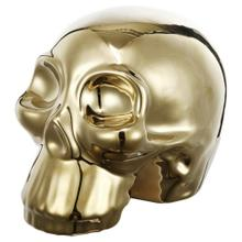 Gold Skull Accent