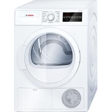 OPEN BOX 300 Series Cond. Dryer - 208/240V, Cap. 4.0 cu.ft., 15 Cyc.,67 dBA Galv.Drum, White/Door Non-Rev.