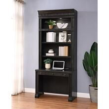 WASHINGTON HEIGHTS In-wall Library Desk and Hutch