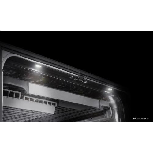 LG SIGNATURE Top Control Dishwasher with TrueSteam® and QuadWash