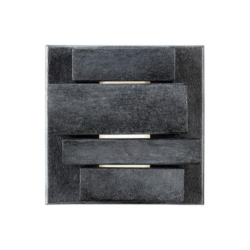 Ledgend Extra Small LED Outdoor Sconce Dark Weathered Zinc Bulbs Inc