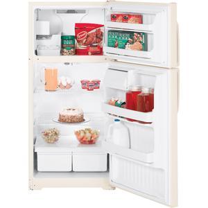 GE® 15.7 Cu. Ft. Top-Freezer Refrigerator