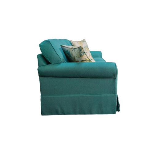 3 over 3 Convo-Lux seat cushions, Skirted.