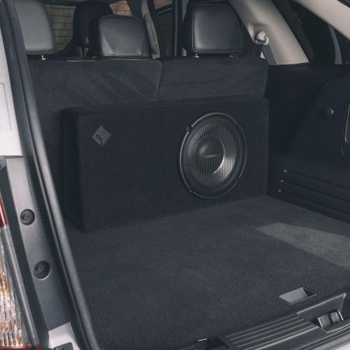 "Rockford Fosgate - Power Single 12"" T1 Slim Sealed Loaded Enclosure"