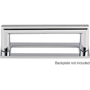 Top Knobs - Kinney Pull 3 3/4 Inch (c-c) Polished Chrome