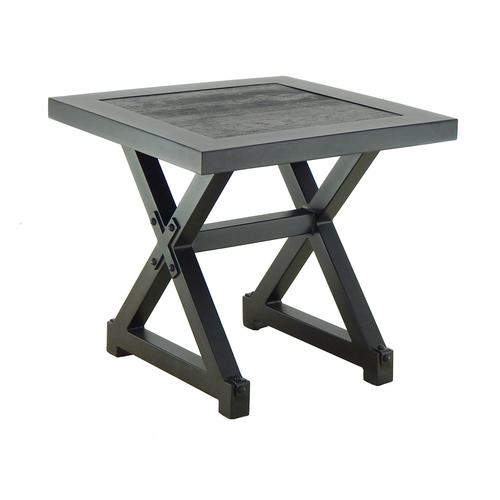 """Castelle - 22"""" Oxford Square End Table"""